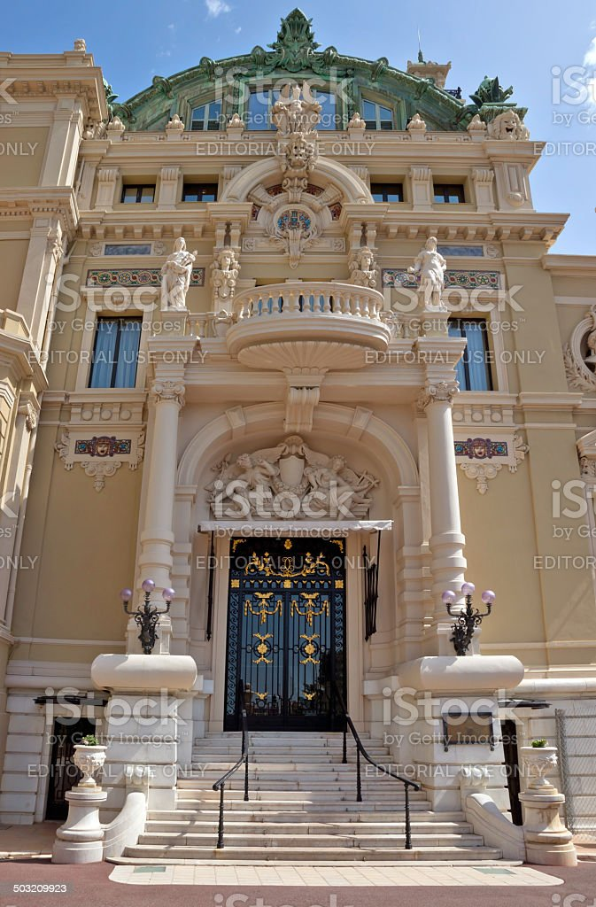 Monaco - Grand Casino stock photo