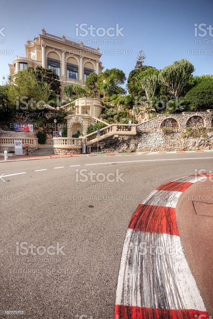 Monaco Grand Prix and Casino stock photo
