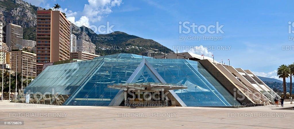 Monaco - Grimaldi Forum stock photo