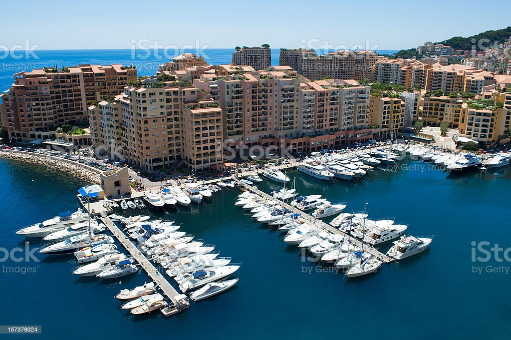 Monaco luxury living Nikon D3 royalty-free stock photo