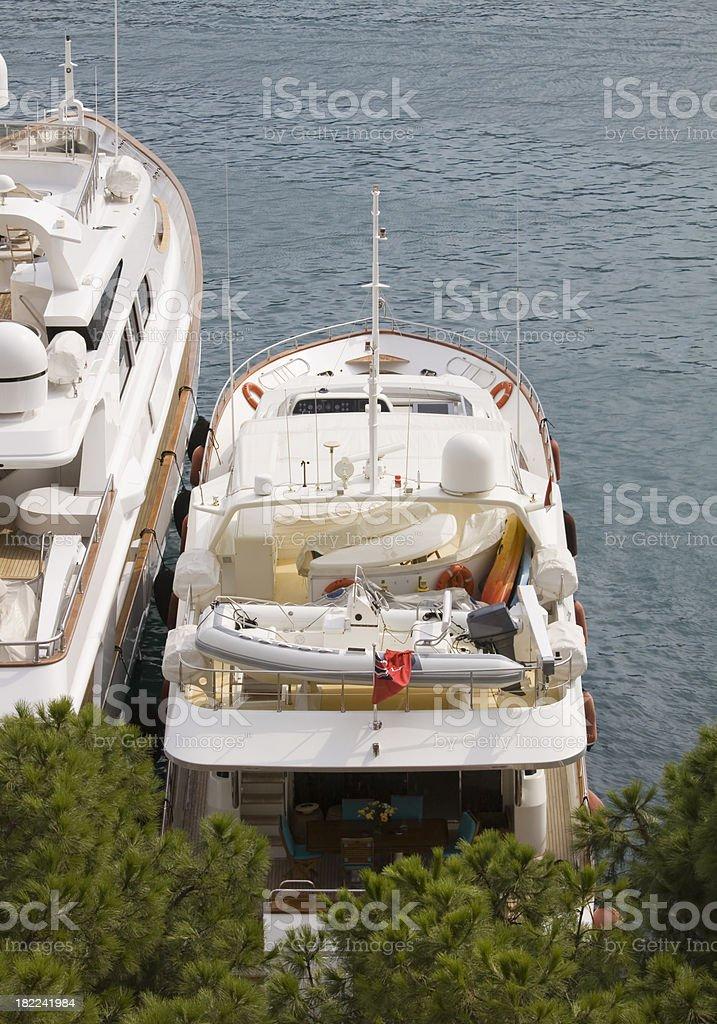 Monaco Marina royalty-free stock photo