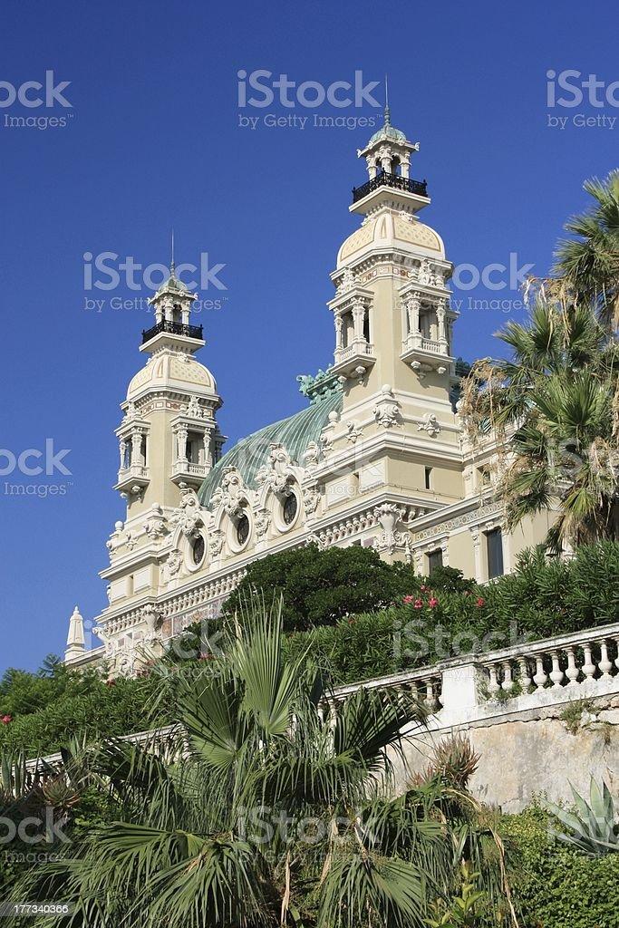 Monaco, Monte Carlo Casino stock photo