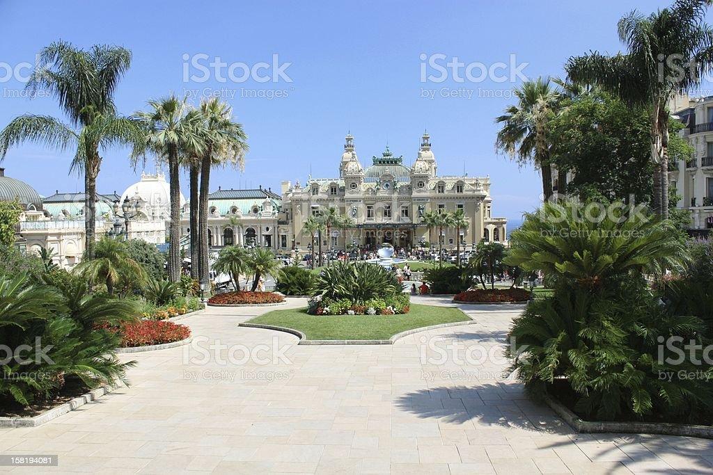 Monaco, Monte Carlo. stock photo