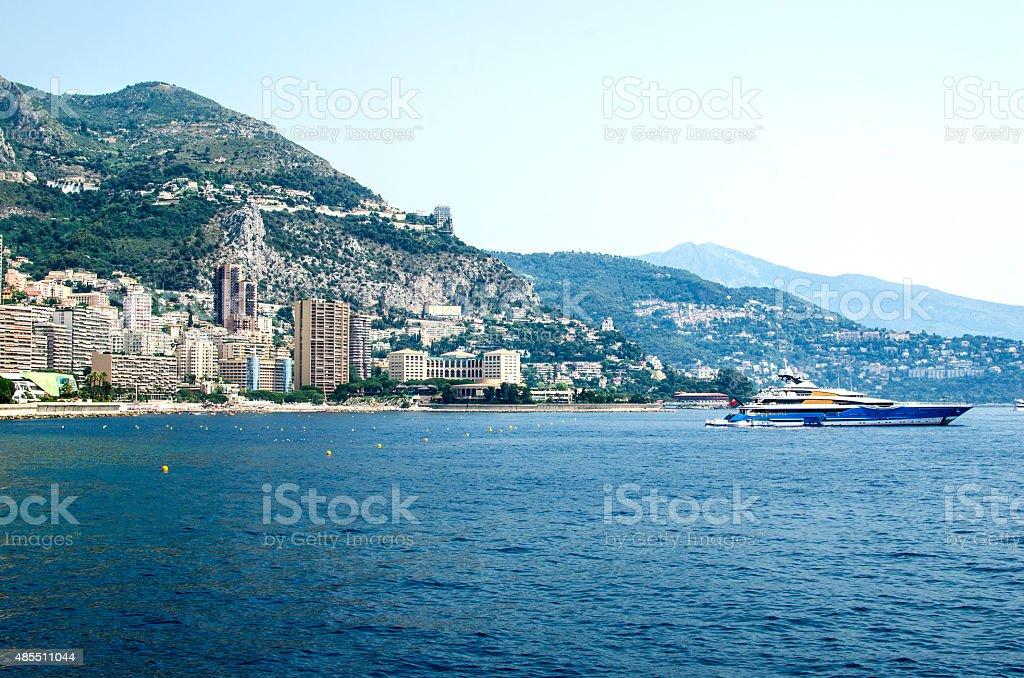 Monaco Monte Carlo impression stock photo