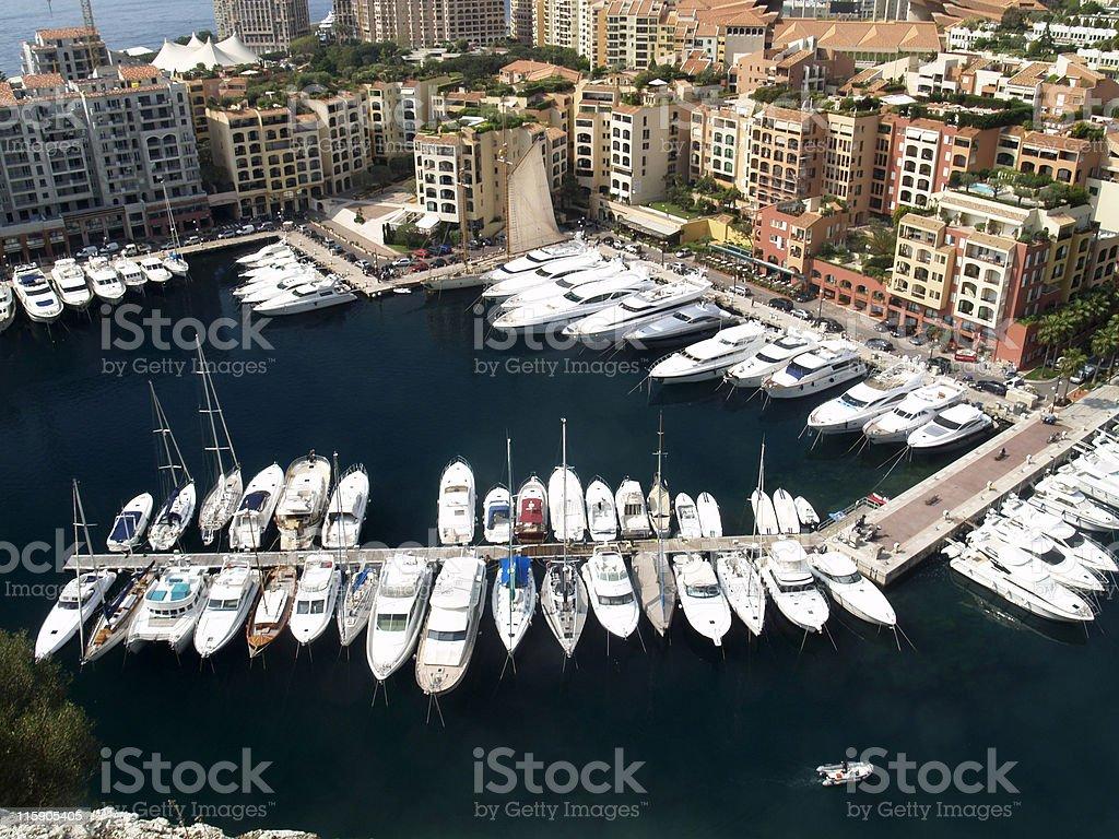 Monaco royalty-free stock photo