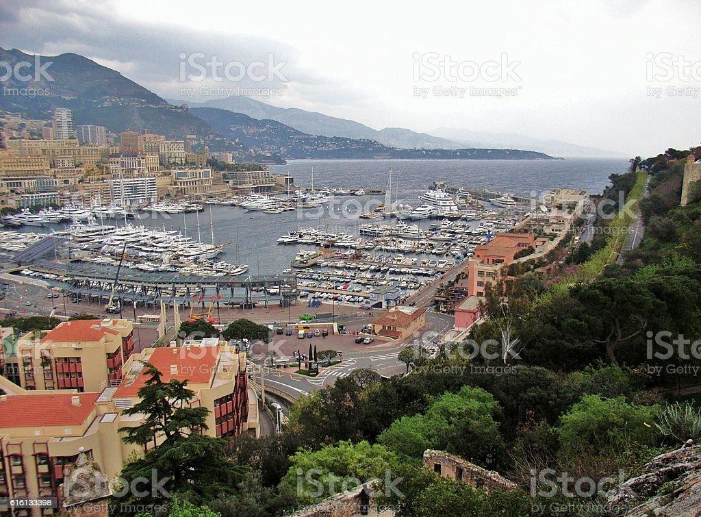 Monaco - Porto Hercule stock photo