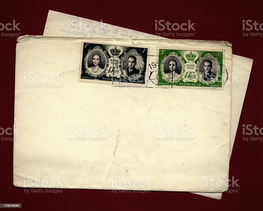 Monaco Royal Wedding 1956 royalty-free stock photo