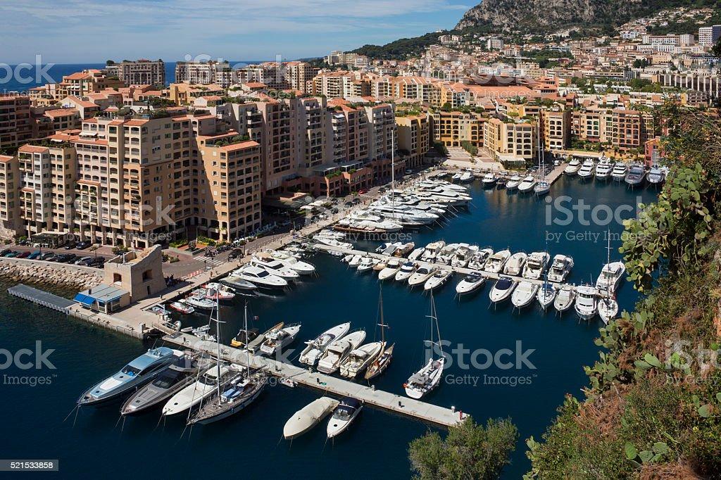 Monaco - South of France stock photo