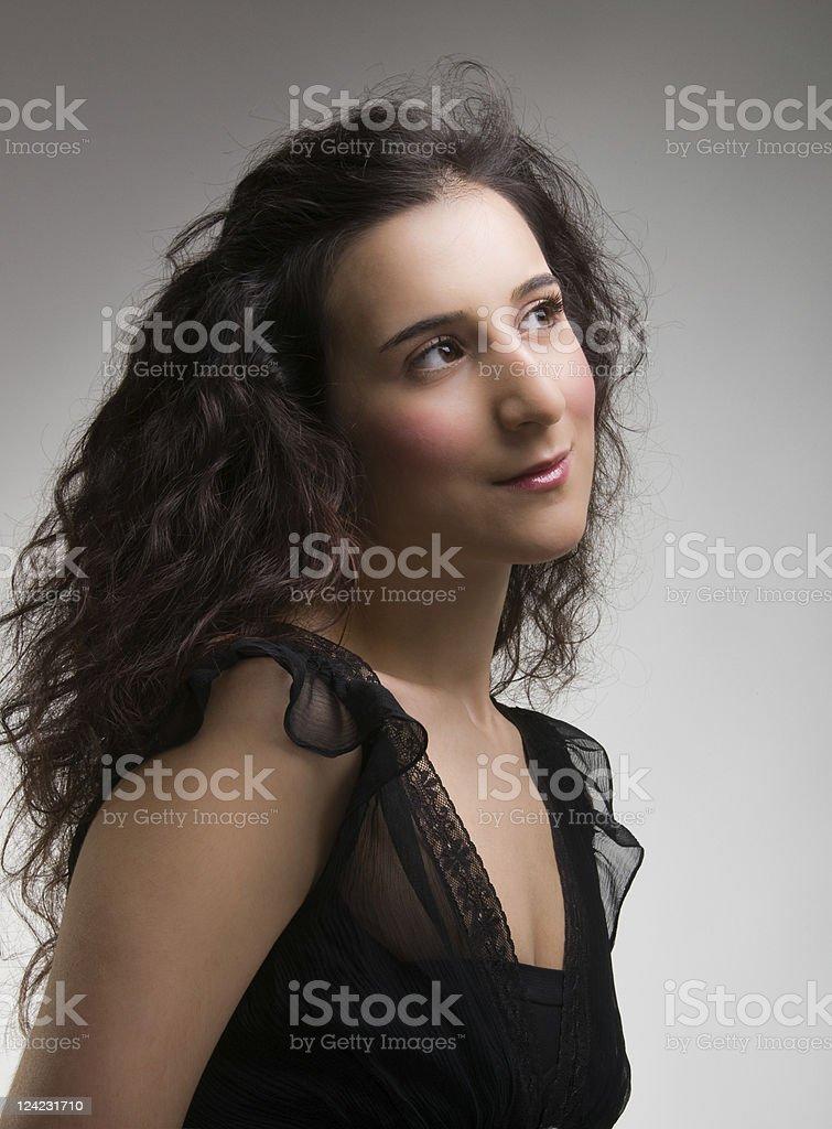 Monalisa Smile stock photo