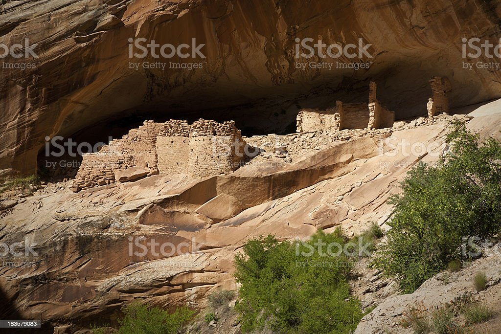 Monarch Cave Ancient Ruin stock photo