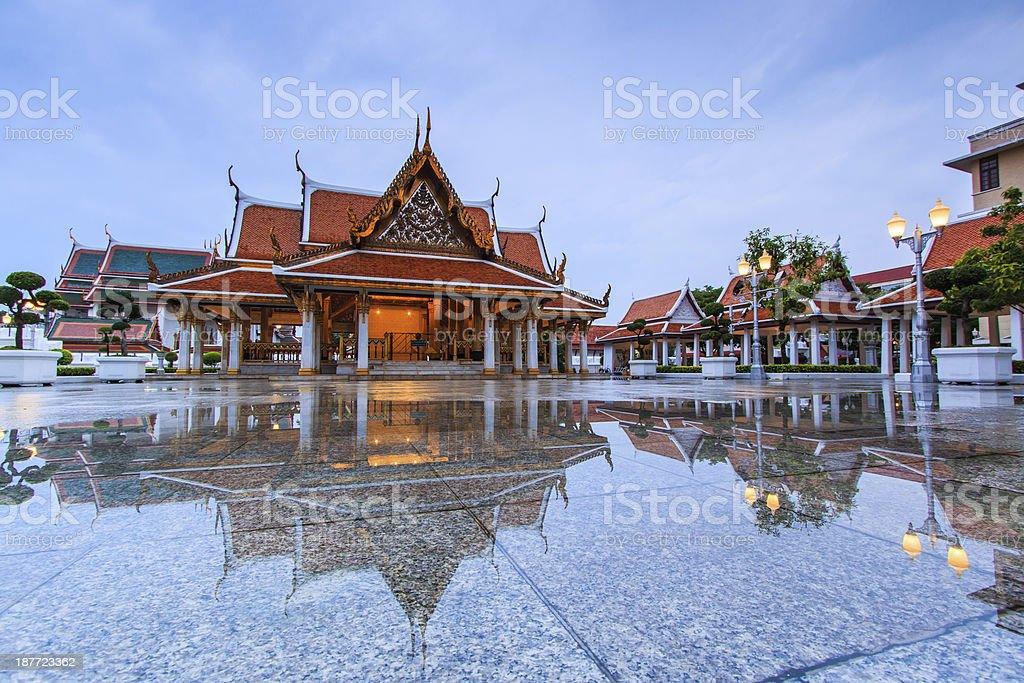 Monarchs chancel temple at twilight royalty-free stock photo