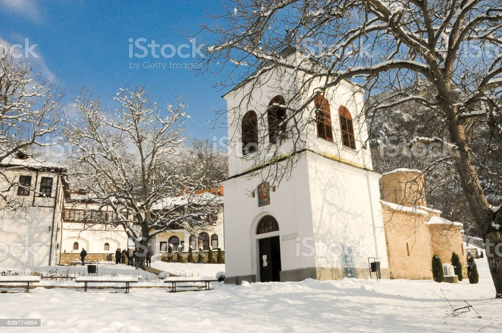 Monasteries in Serbia, Lipovac stock photo
