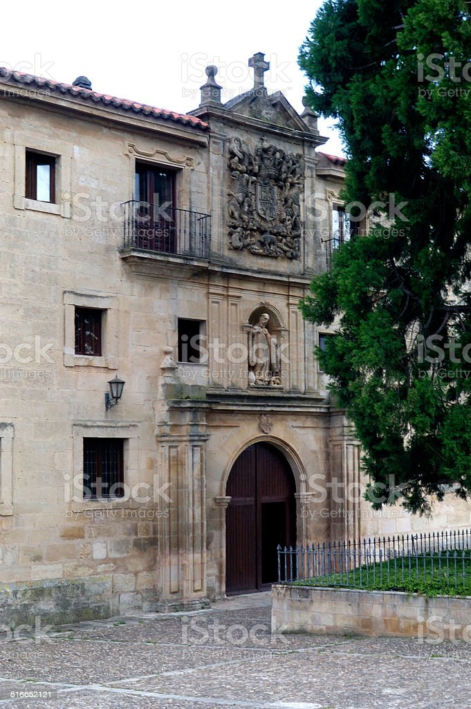 Monasterio de Santo Domingo de Silos, Burgos stock photo