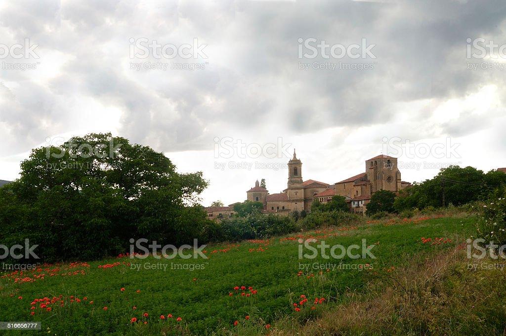 Monasterio de Santo Domingo de Silos,Burgos, stock photo