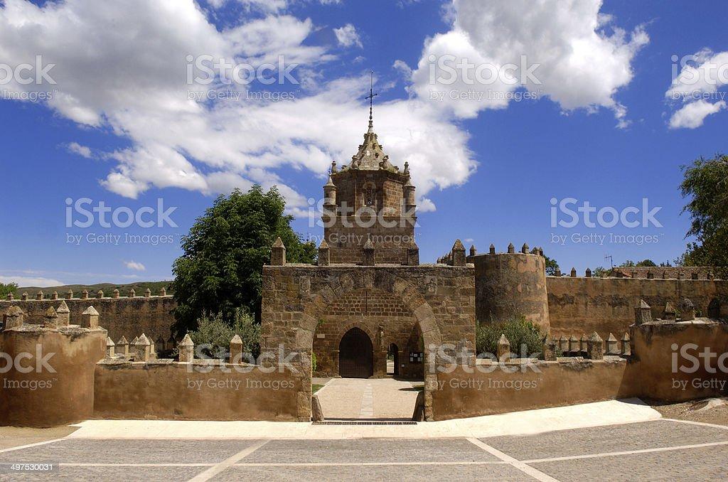 Monasterio de Veruela, Vera de Moncayo stock photo