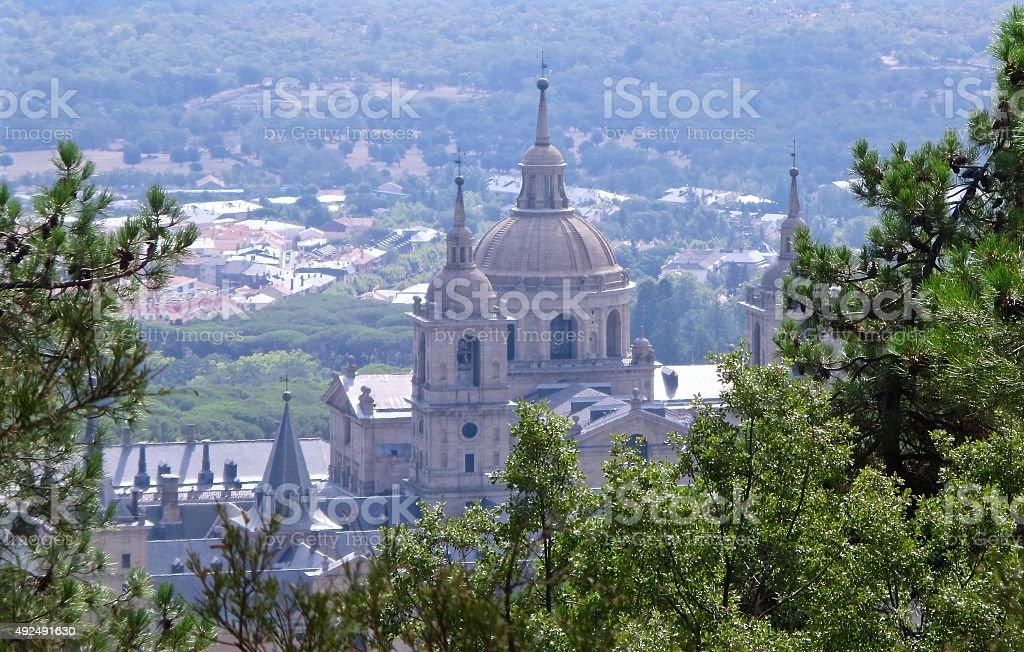 Monasterio del Escorial stock photo