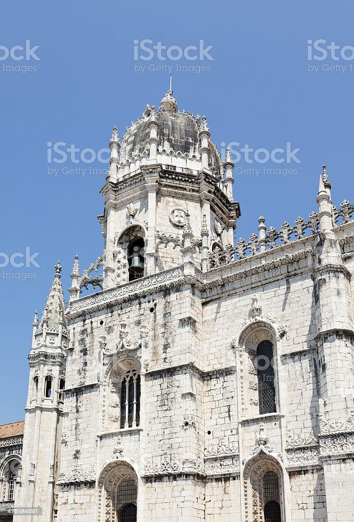 Monasterio dos Jeronimos, Lisbon royalty-free stock photo