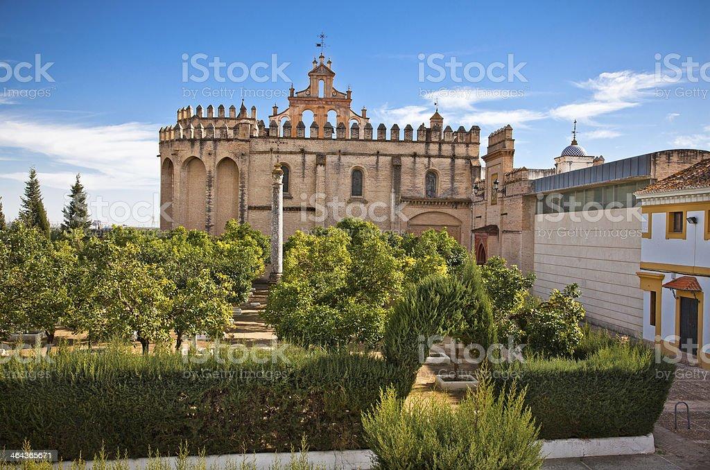 Monasterio San Isidoro del Campo in Santiponce, Spain. royalty-free stock photo