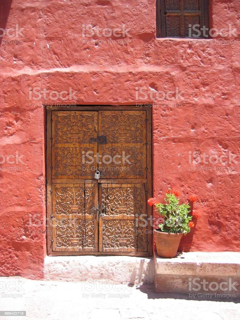 Monasterio Santa Catalina stock photo