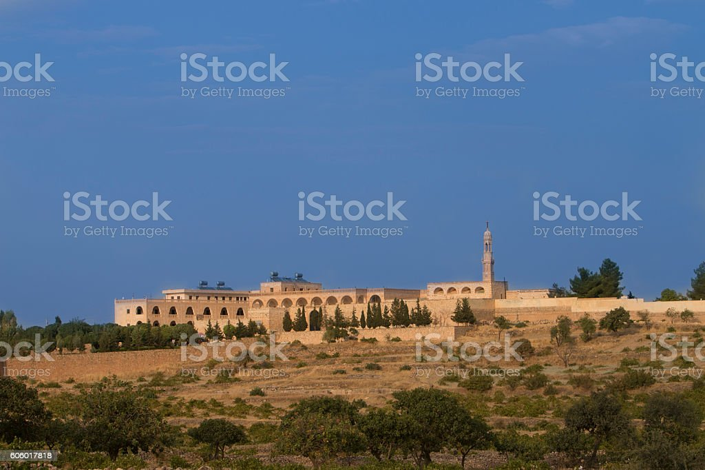 monasteriy of Midyat stock photo