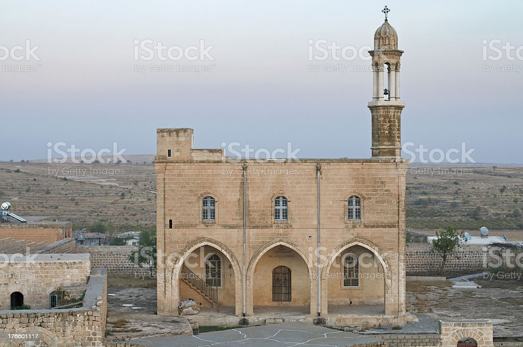 Monastery at Midyat royalty-free stock photo