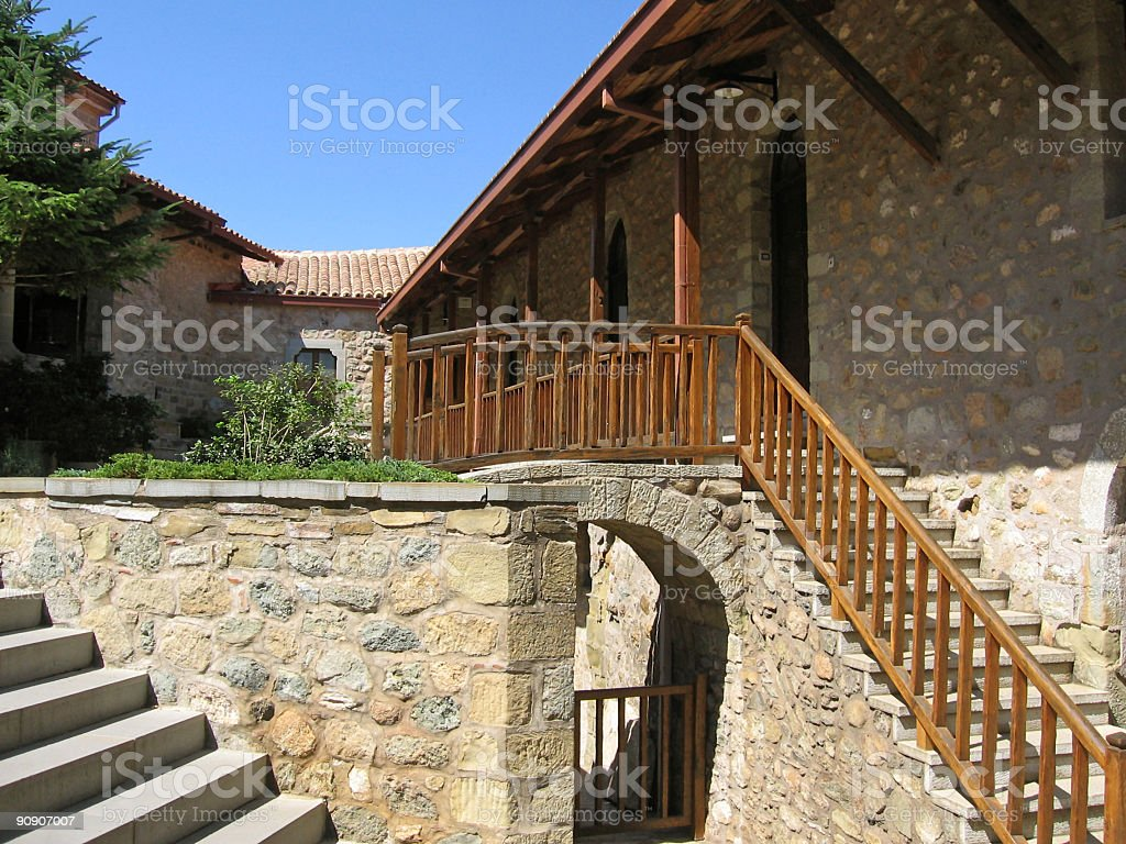 Monastery complex royalty-free stock photo