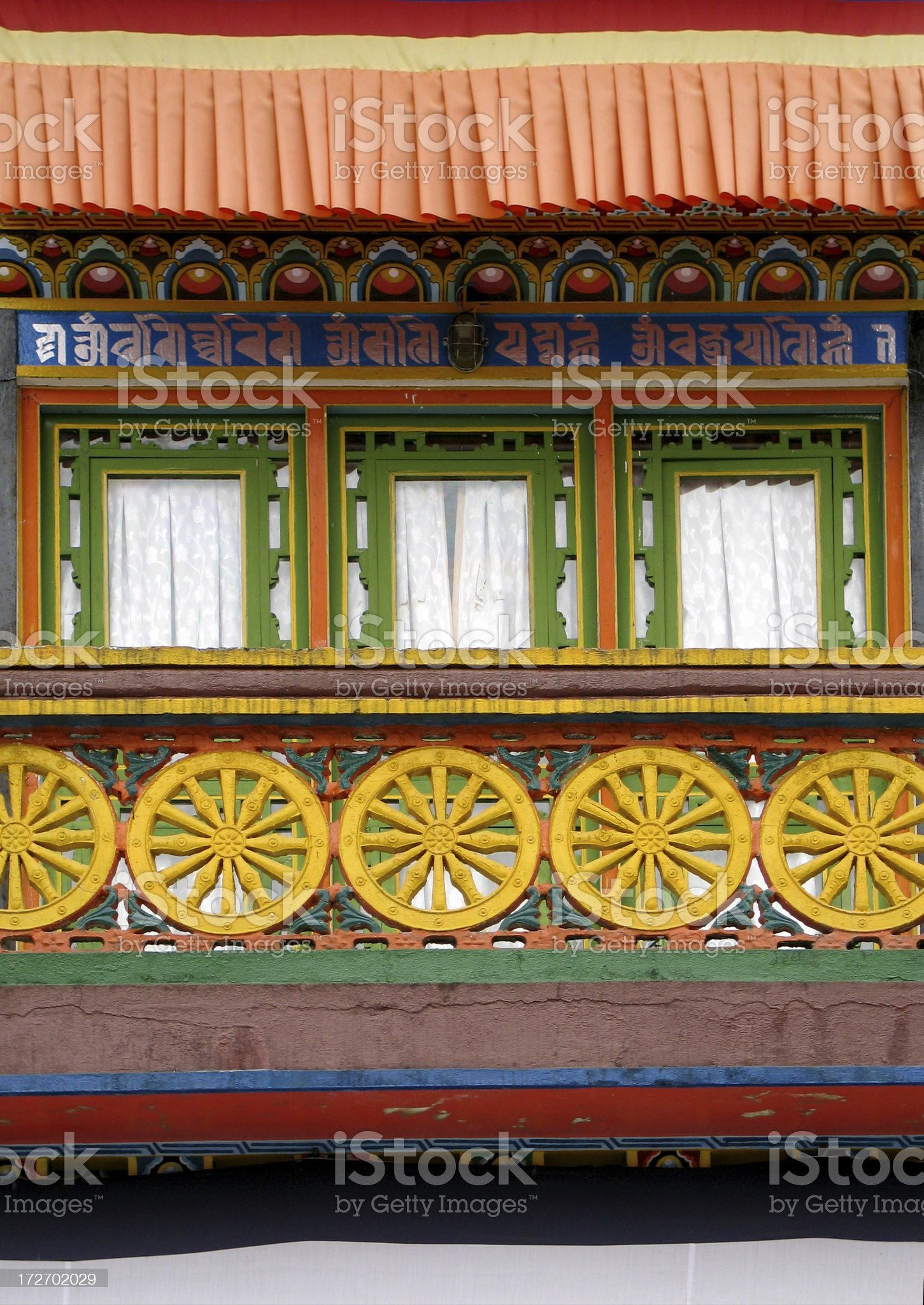 Monastery Detail royalty-free stock photo