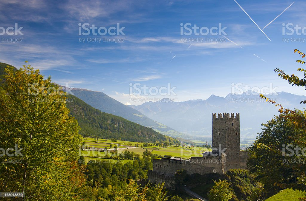 Monastery Fuerstenburg in South Tyrol royalty-free stock photo
