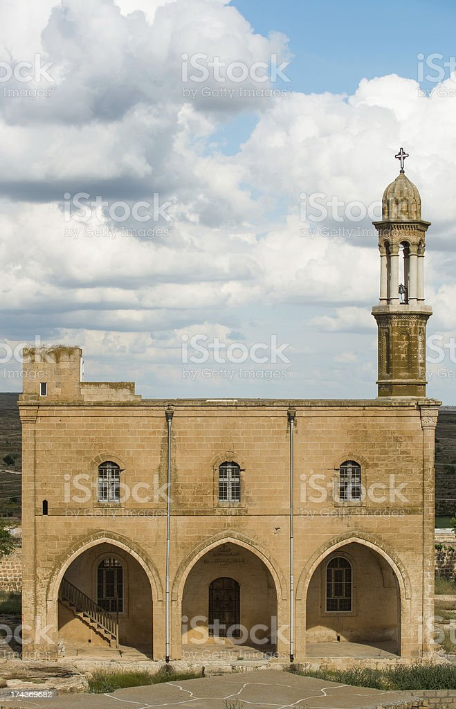Monastery, Mardin-Turkey stock photo