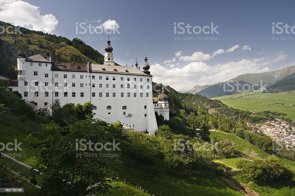 'Monastery Marienberg, Italy' stock photo