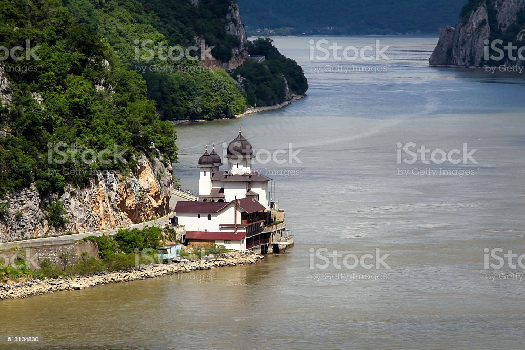 Monastery Mraconia stock photo
