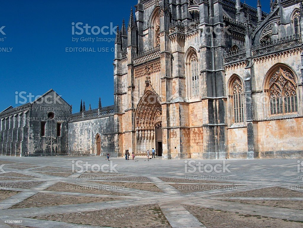 Monastery of Batalha royalty-free stock photo