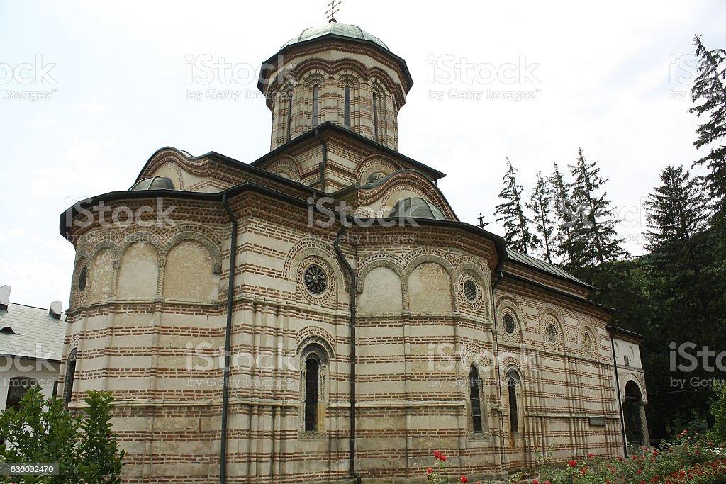 Monastery of Cozia,Caciulata,Romania stock photo