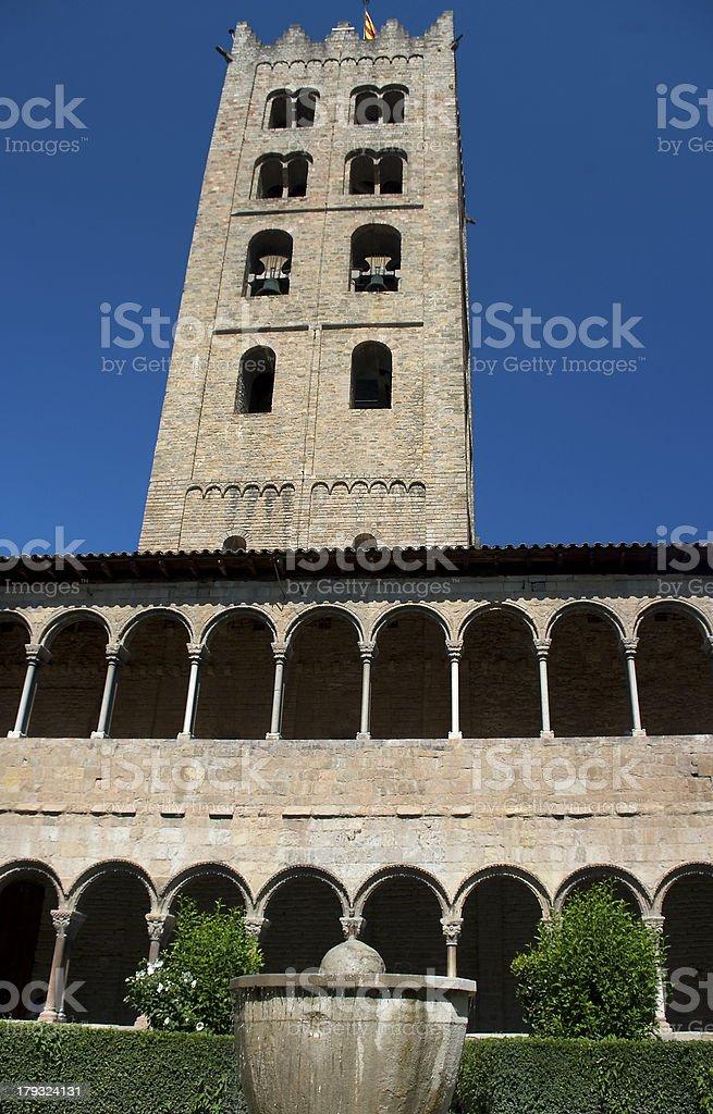 Monastery of Ripoll.Catalonia.Spain royalty-free stock photo
