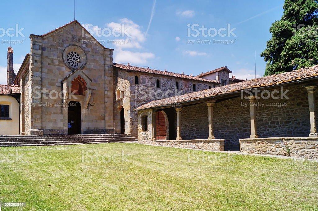 Monastery of San Francesco, Fiesole stock photo