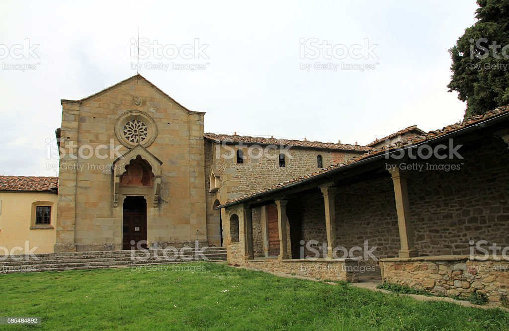 Monastery of San Francesco stock photo