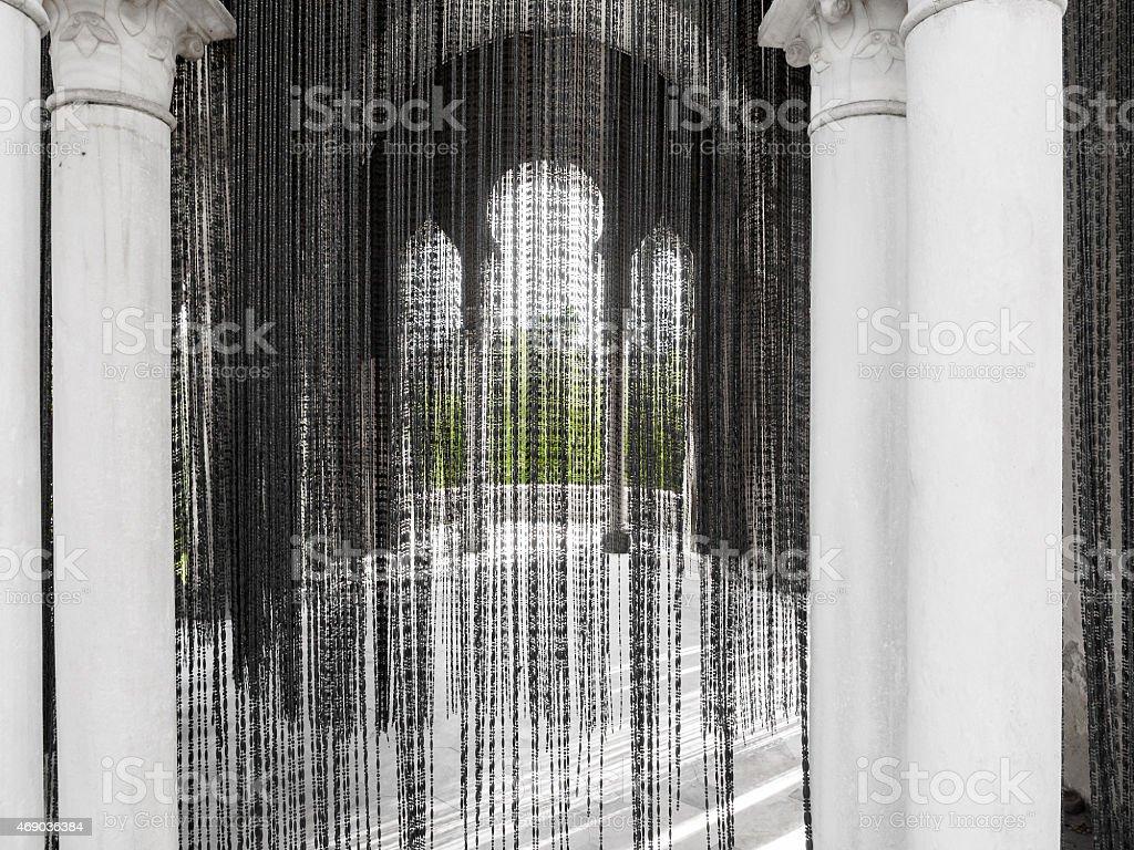 Mosteiro de Santa María.   A Espanha foto royalty-free