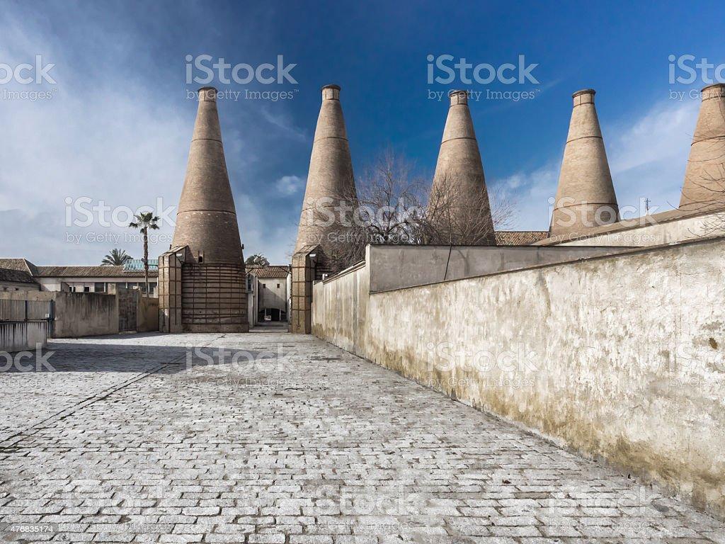 Mosteiro de Santa María de las Cuevas.   La Cartuja, Sevilla, foto royalty-free
