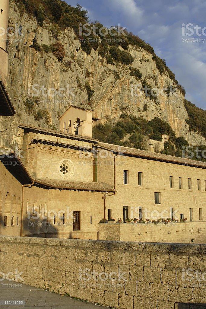 Monastery of Subiaco royalty-free stock photo