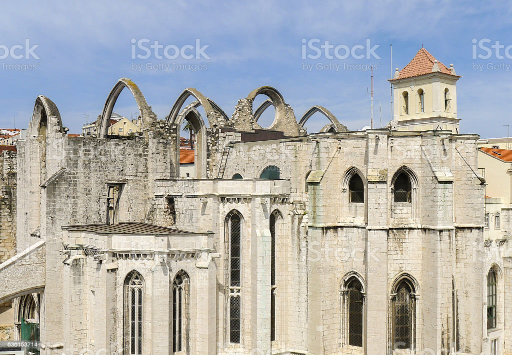 Monastery of the Hieronymites in Lisbon stock photo