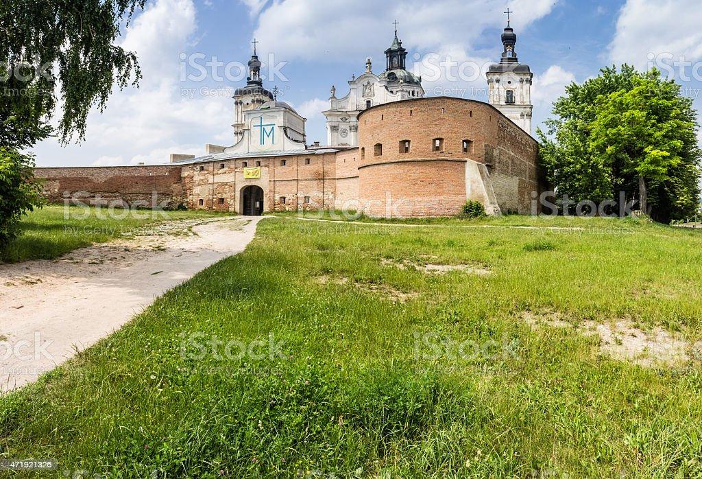 Monastery of the Order of Discalced Carmelites stock photo