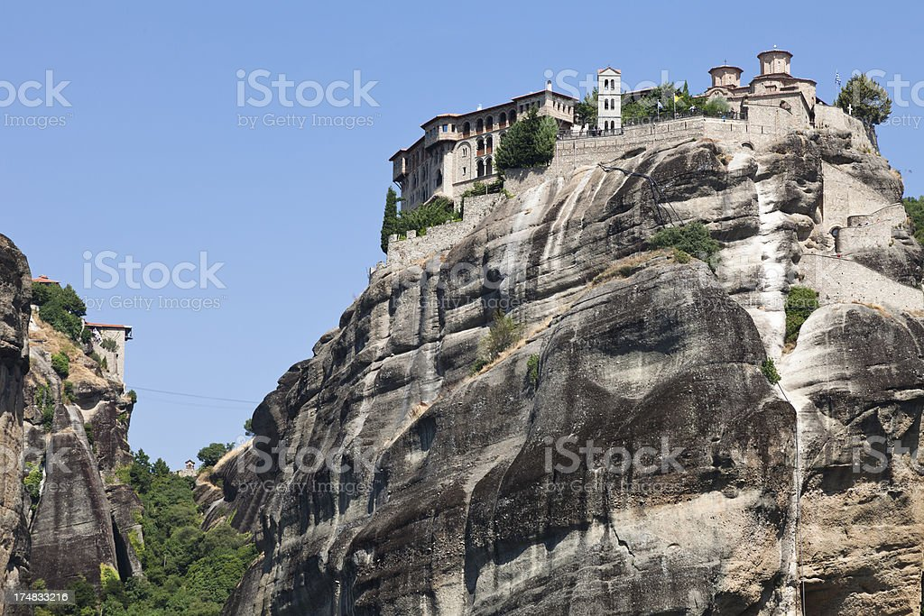 Monastery of Varlaam, Meteora stock photo