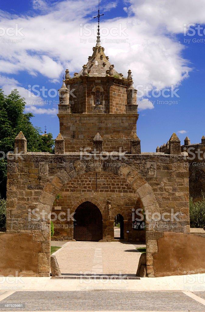 Monastery of Veruela, Zaragoza, Spain, stock photo