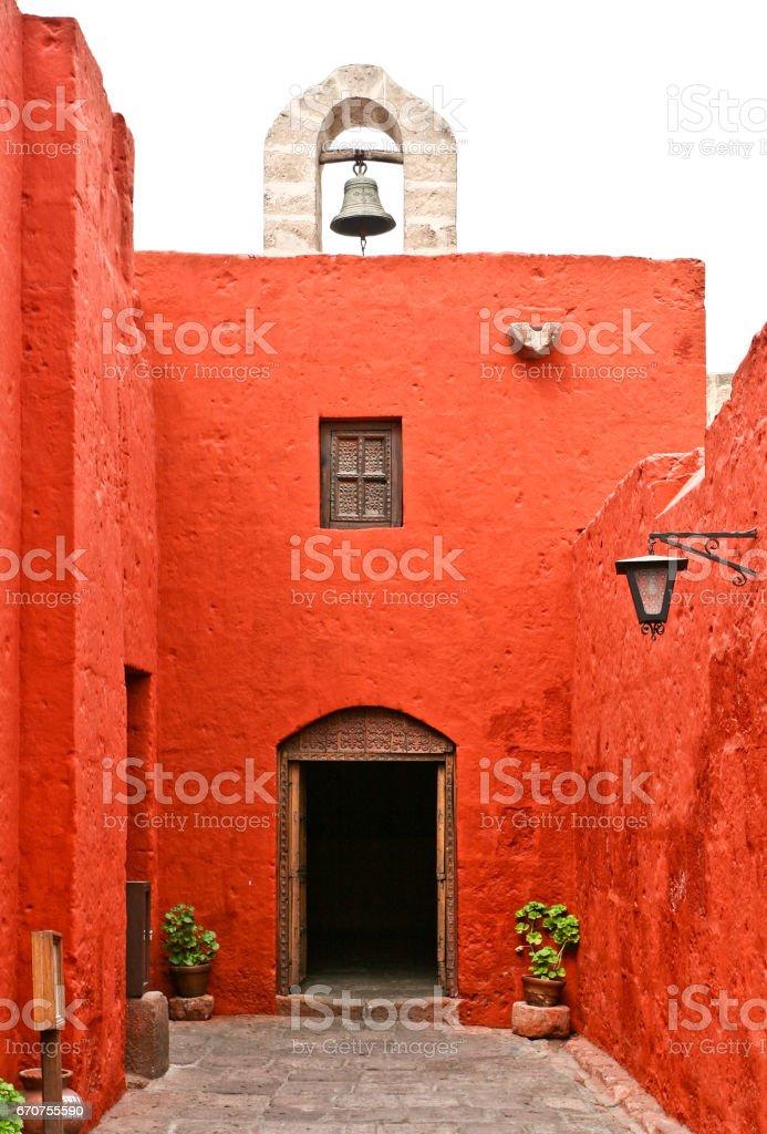 monastery Santa Catalina stock photo