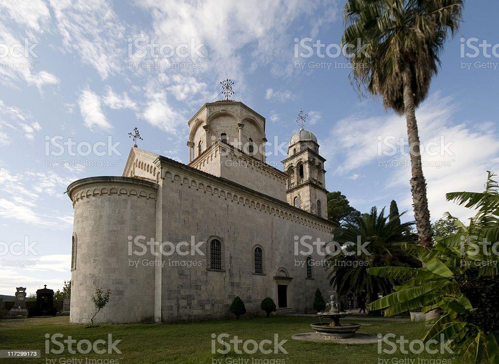 Monastery Savina stock photo