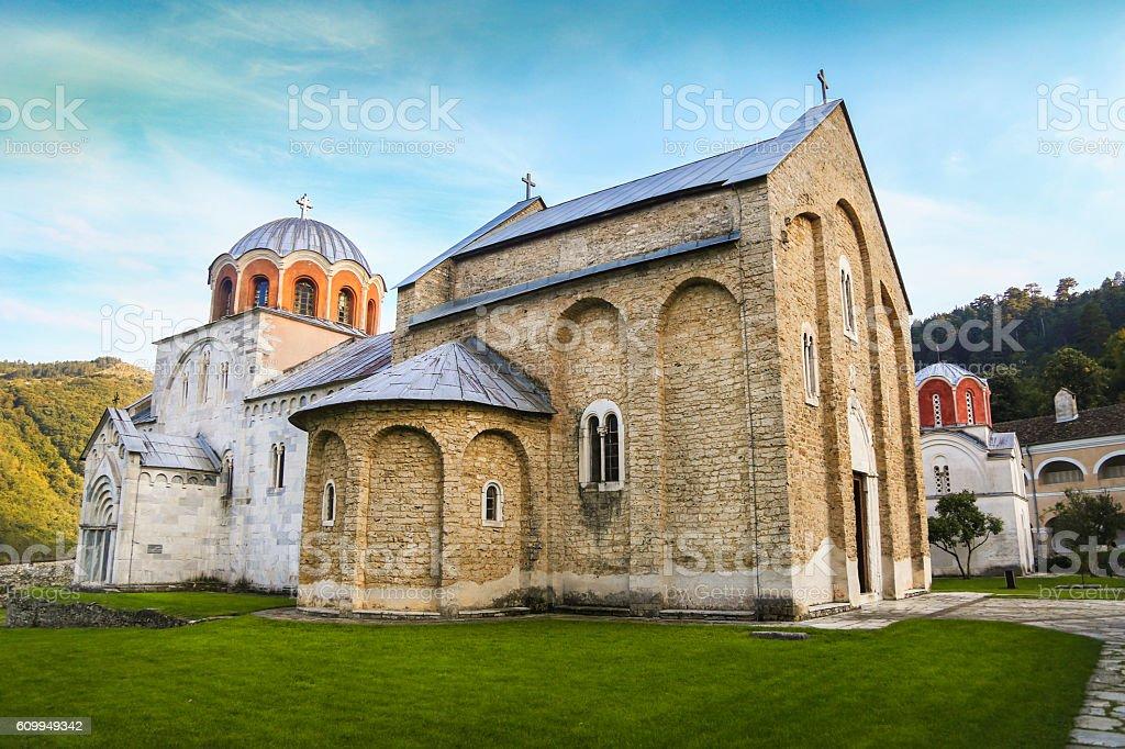 Monastery Studenica stock photo