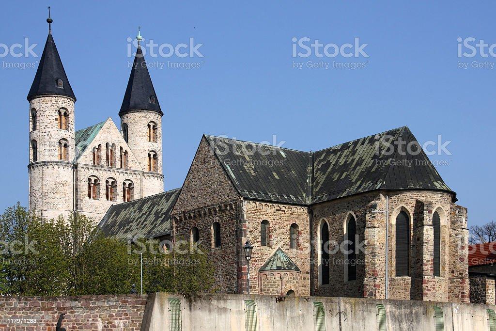 Monastery Unsere Lieben Frauen stock photo