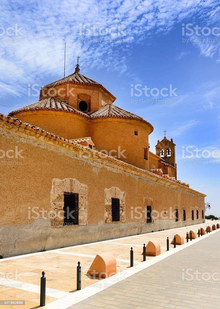 Monastery Virgin De Saliente stock photo