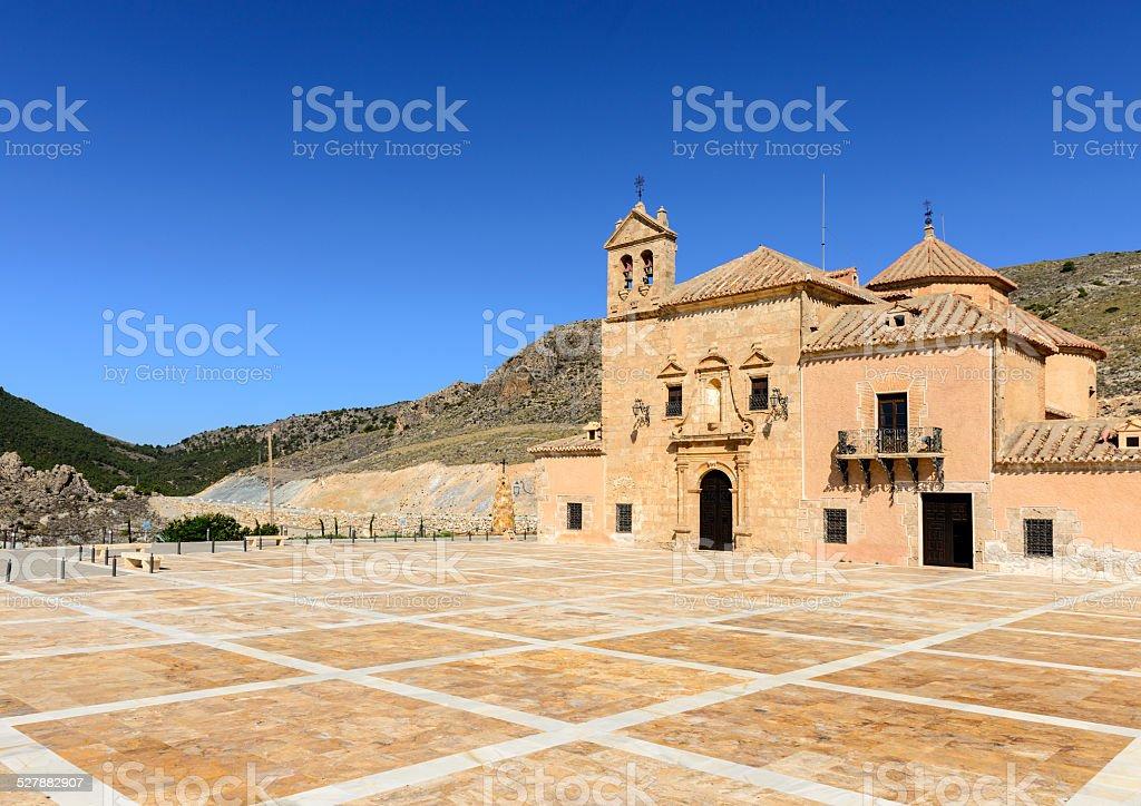 Monastery Virgin Del Saliente stock photo