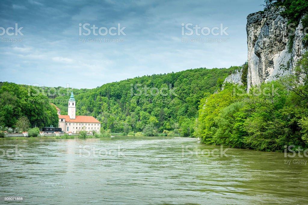 monastery Weltenburg stock photo